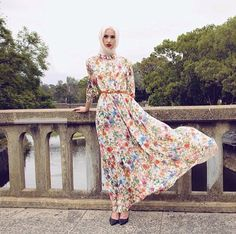 We're going to be reposting some of our favourite photos back up. Here's one of our most creative creations, the floral bohemian dress from 2014. #hijab #hijabhouse #vsco #vscocam #vscophile #fashion #vogue #chichijab #hijabmuslim #pretty #floral #model #hijabchamber #hijabvogue #timeless