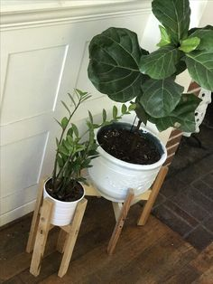 Easy plant stand