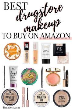 New Must-Try Drugstore Makeup 2019 - liana desu Makeup Guide, Makeup Kit, Beauty Makeup, Beauty Tips, Top Beauty, French Beauty, Contour Makeup, Makeup Blog, Eyebrow Makeup