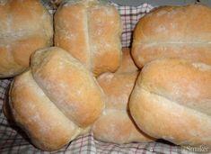 Bułki pszenno - żytnie, duże, zwykłe według Marioli. Hamburger, Baking, Eat, Cook, Bakken, Burgers, Backen, Sweets, Pastries