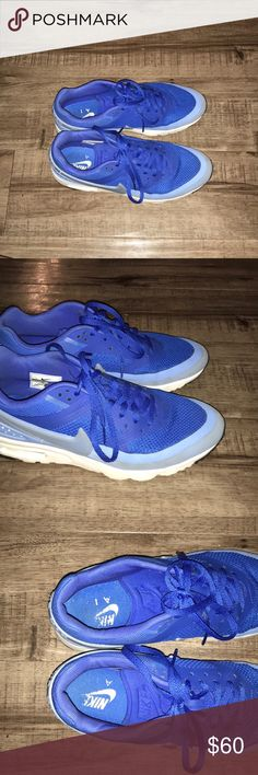 Nike Air Like new royal blue Nike Air tennis shoes. Worn but great condition. Nike Shoes