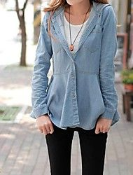 Women's Blue Hooded Outerwear Jacket Jean Shirt Blouse Save up to 80% Off at Light in the Box with Coupon and Promo Codes.