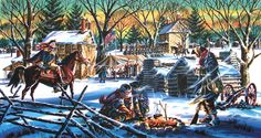 During a cold and dangerous winter in 1777-1778 American troops were stationed at Valley Forge. This was a very bad time for the American troops at this time because disease was spreading very fast through the fort. But the men stayed strong and fought through it together with there General George Washington.