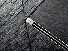 Stainless steel shower channel ADVANTIX VARIO by Viega Italia