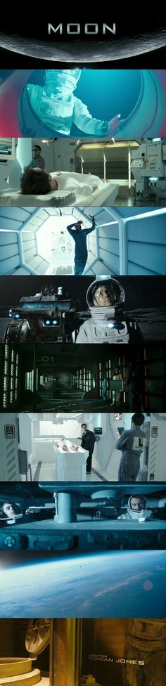 Moon (2009) Directed by Duncan Jones. Starring Sam Rockwell in leading role.