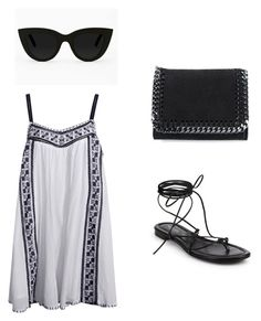 Boho by sylf727 on Polyvore featuring polyvore, fashion, style, Michael Kors, STELLA McCARTNEY and Quay