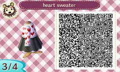 "mayor-lia: "" my heart sweater & skater skirt for the other anon! i had to remake it from the original because i didn't save the original but it's essentially the same :) please enjoy!! (& enjoy the..."