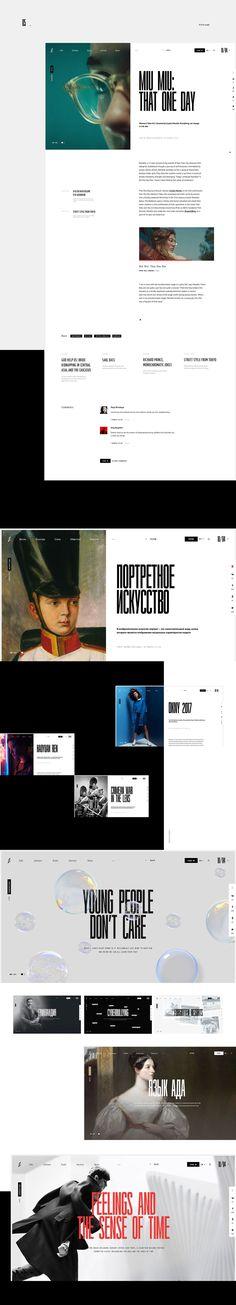 Zugzwang magazine #3 #web #interaction #desktop #magazine #design #mobile #tablet #UI