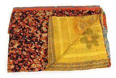 Hand-Stitched Kantha Throw, Raxaul on OneKingsLane.com