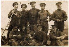 Canadian Gunners, World War I.