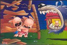 Mis cuentos... tus cuentos... nuestros recuerdos.: Secuencia del Cuento de Los tres cerditos Preterite Spanish, Piggly Wiggly, Movie Talk, Three Little Pigs, Conte, Nursery Rhymes, Storytelling, Sonic The Hedgehog, Im Not Perfect
