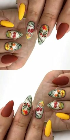 Latest Acrylic Nail Designs Fоr summer 2019 – ♥ Beautiful Woman's Nails ♥ - LastStepPin Cute Nail Designs, Acrylic Nail Designs, Acrylic Nails, Summer Nails, Fall Nails, Coffin Nails, Cute Nails, Nail Colors, Nail Art