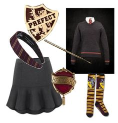 """""""My uniform"""" by alwaysapotter-head ❤ liked on Polyvore"""