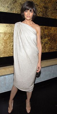 100 Best Dresses of the Decade - Katie Holmes in Lanvin from #InStyle