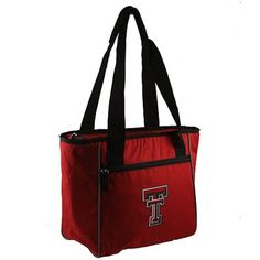 Texas Tech Red Raiders 16-Can Cooler Tote - Scarlet