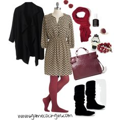 Gamecock Gameday Look - A Fancy for Fall by gamecockgirlblog, via Polyvore