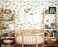 Photography : Aubrey Greene Photography Read More on SMP: http://www.stylemepretty.com/living/2016/09/09/a-wanderlust-filled-nursery-for-the-smallest-jetsetter-in-your-life/