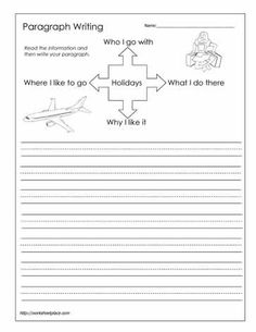 paragraph writing worksheet this website has some good worksheets writing pinterest. Black Bedroom Furniture Sets. Home Design Ideas