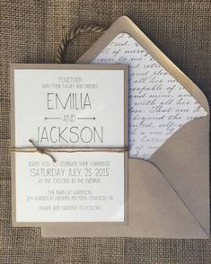 simple laurel save the date Image source Hip Green California Wedding from Laura Nelson – wedding invitation Image source Rustic Modern Chic Wedding Invitation, Simple & Elegant- set (not including RSVP yet) Image source Inexpensive Wedding Invitations, Rustic Invitations, Modern Wedding Invitations, Wedding Stationery, Wedding Cards, Invitation Layout, Invitation Cards, Invitation Ideas, Invitation Envelopes