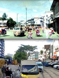 Jalan pintu kecil, vroeger Kali Besar Zuid (in Glodok), 1948 1950, ,., Jl Pintu Kecil, Jakarta, 2019 Jakarta, Street View, City, Cities