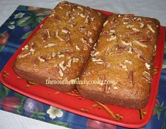 Sweet Potato Banana Bread