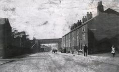 Manchester rd Little Hulton, looking down towards the old Kenyon Arms pub, white building on the left in the background. White Building, Salford, Old Pictures, Family History, Manchester, Roots, Places To Visit, Arms, Old Things