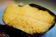 Uni sea urchin roe from Sushi II @sushi_ii_hi - #imenehunes #food #delicious #yummy #hawaiisbestkitchens #hawaiirestaurants #japanesefood #japanesestyle #honolulu #honolulurestaurants #uni #unisushi #sushiii #sushi #uniseaurchinroe #roe #seaurchin #seafood