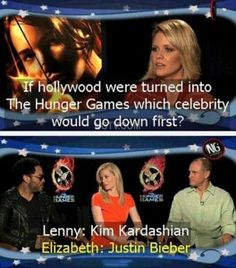 Hollywood hunger games