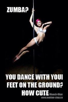 Found this funny! #poledancing