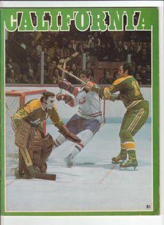 f6f282832 1973 California Golden Seals program. Stars Hockey
