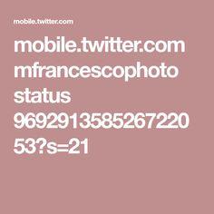 mobile.twitter.com mfrancescophoto status 969291358526722053?s=21