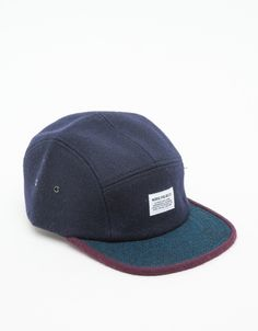 54661a37152 Wool 2 Tone 5 Panel Norse Projects