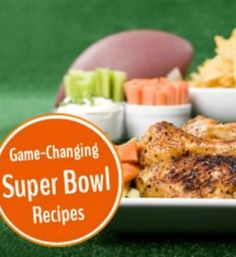 Plan the perfect Super Bowl party with these awesome recipes and entertaining ideas! | via @SparkPeople #food #appetizer #football