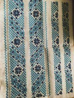 Cross Stitch Geometric, Cross Stitch Art, Cross Stitch Borders, Cross Stitch Designs, Cross Stitch Embroidery, Hand Embroidery, Cross Stitch Patterns, Palestinian Embroidery, Bargello