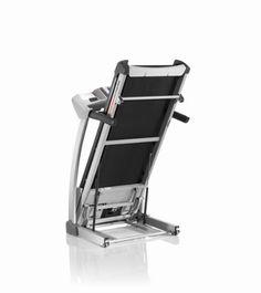 Schwinn 860 Treadmill Folded Position