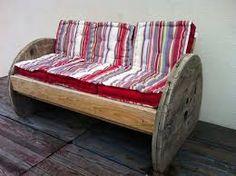 mesa de carretel de madeira - Pesquisa Google