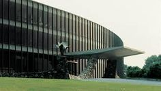 """IBM Research Building by Eero Saarinen (1961) """"Become the company you really are"""" says Dana Arnett, """"Design  liberates the message""""."""