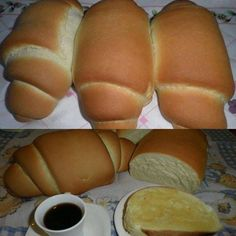 Pão Caseiro Super Macio Bread Recipes, Snack Recipes, Snacks, Red Rice Recipe, Biscuits, Food Net, Good Food, Yummy Food, Pan Dulce