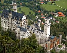 Fussen, Germany with my husband on our honeymoon. Right out of a fairytale, literally!