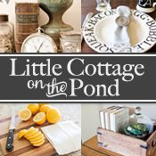 the little cottage on the pond...: Decorating with industrial pieces...