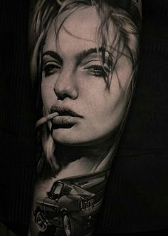 Best 30 Fantastic Angelina Jolie Fan Tattoos – NSF – Music Magazine