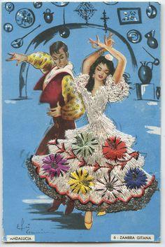 1960s Spanish postcard | eBay