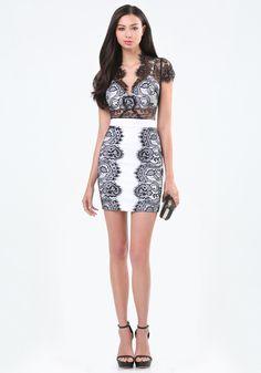 2723dd5fd11d7b Bebe Lace Bralette Dress in Black ---- Bridget Hollitt ----