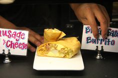 Our breakfast sandwiches are made fresh every morning to order.  Executive Chef Mike Bickelhaupt chooses the freshest, finest ingredients to creat these delicious meals. #breakfastsandwiches #beavercreek #colorado #beavercreekbreakfast