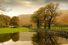 Rainy Day, Borrowdale, The Lake District, England