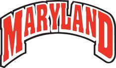 Maryland Terrapins NCAA Decal Sticker Truck Window Bumper Laptop Wall
