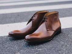The one shoe every guy needs to add to his closet. The Paul Evans Newman Chukka Boot.