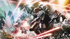 battle death_guard horus_heresy imperium legio_cybernetica mechanicus nathaniel_garro neil_roberts power_sword space_marines thallax