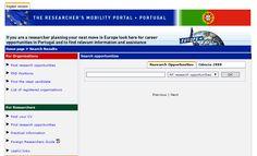 Já conhece a ERACareers? Se é investigador, este é o portal de mobilidade que lhe mostra quais são as oportunidades de carreira em Portugal!  Aceda mais informação e dados relevantes para apostar na investigação em Portugal em: http://www.eracareers.pt/search/index.aspx?task=search&idc=1! #CEB #CEBLinksTools #CEBGrantsJobOffers