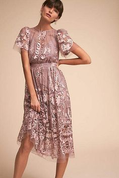 Anthropologie Vivica Wedding Guest Dress, #ad